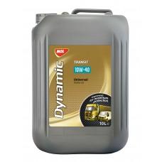 MOL Dynamic Transit 10W-40 Высококачественное энергосберегающее полусинтетическое моторное масло 10L